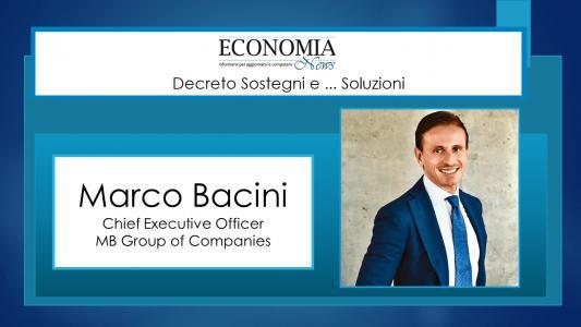 Marco Bacini: fare impresa è adattarsi ai cambiamenti