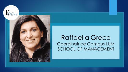 Raffaella Greco: occorre una vera rivoluzione culturale