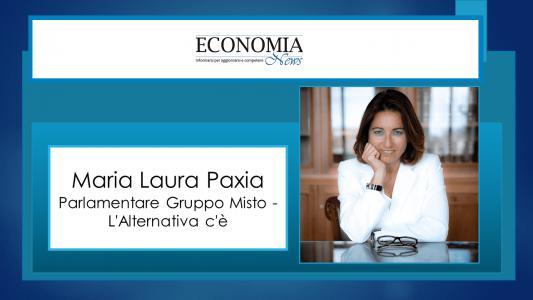 Maria Laura Paxia: Investimenti e Riforme per far ripartire l'Italia