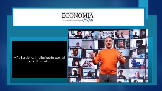 Alfio Bardolla: l'Italia riparte con gli eventi dal vivo